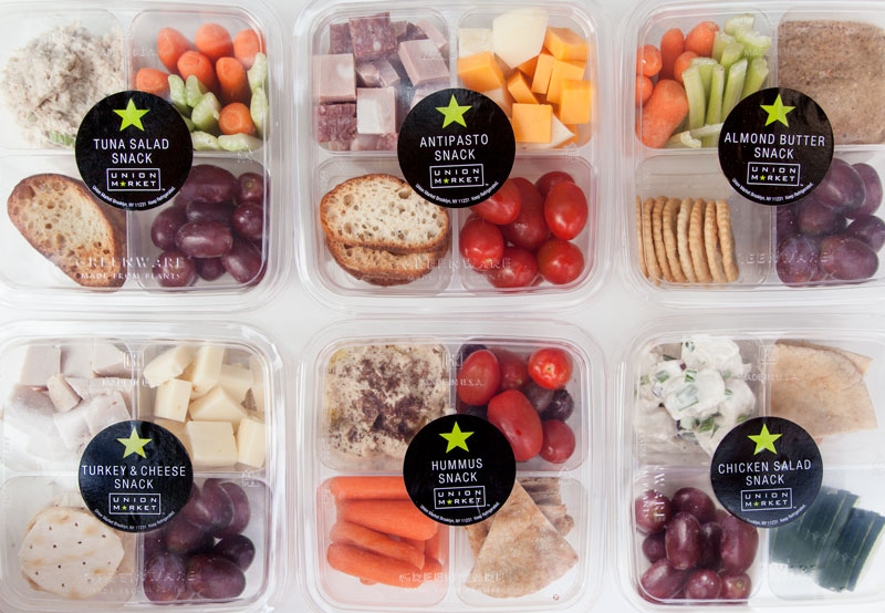 Union Market Pre-Packed Snack Boxes