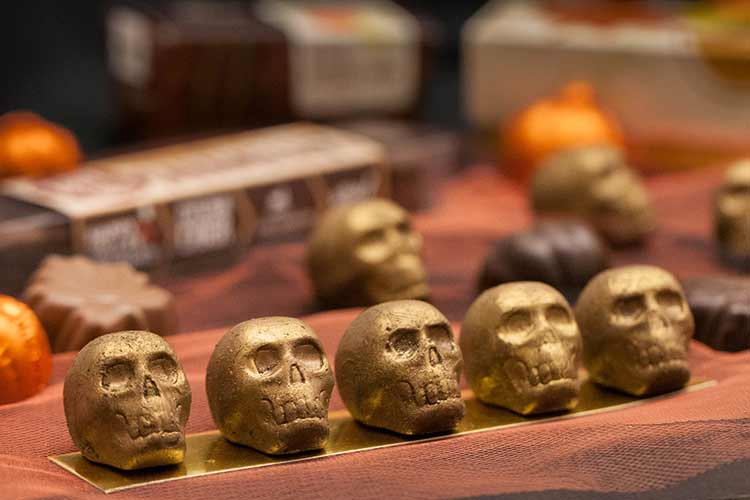 Union Market Halloween Candy Skulls