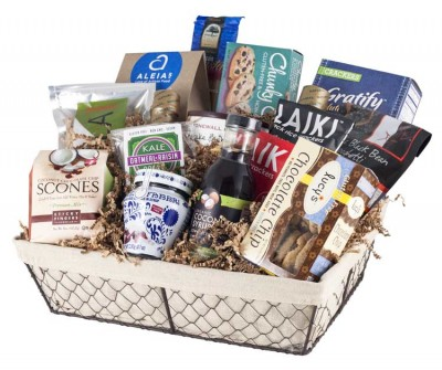 Specialty gift baskets by union market union market gluten free crackers and cookies and tasty treats like amarena fabbri preserved wild cherries youll be spoiled for choice with this basket negle Image collections