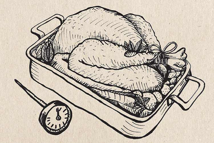 recipe: roast the perfect thanksgiving turkey