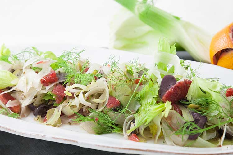 Union Market Shaved Fennel Salad