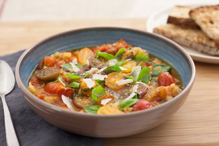 Union Market Late Summer Heirloom Tomato Soup Recipe