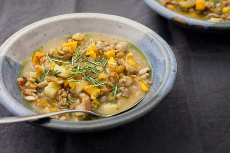 Union Market Chestnut, Farro and Butternut Squash Soup recipe