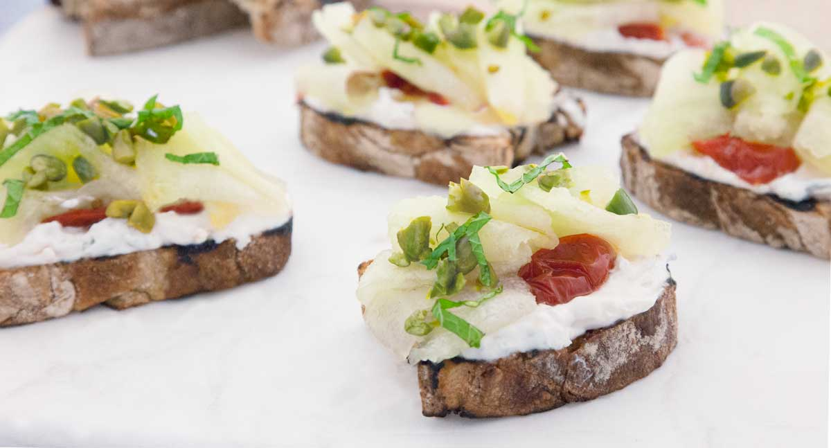 Union-Market-Goat-Cheese-Honeydew-Bruschetta-recipe-1200px