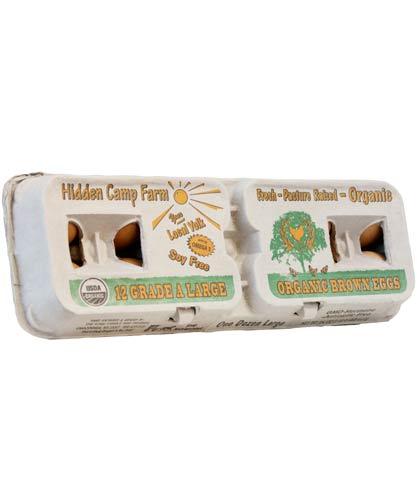 Hidden Camp Farm Organic Eggs