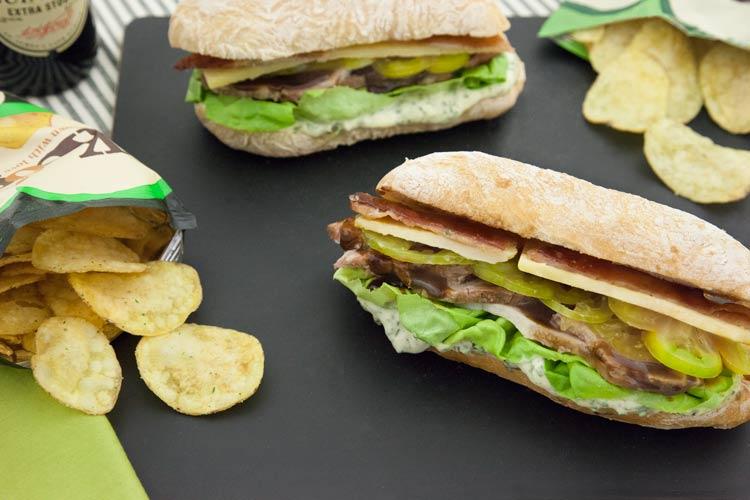 Union Market Irish BLT Sandwich