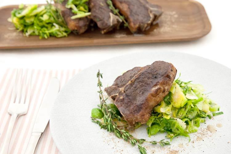 Union Market Recipe - Lamb Loin Chops