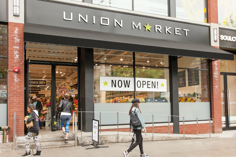 Union Market Grand Army Plaza Location on Flatbush Avenue is Now Open