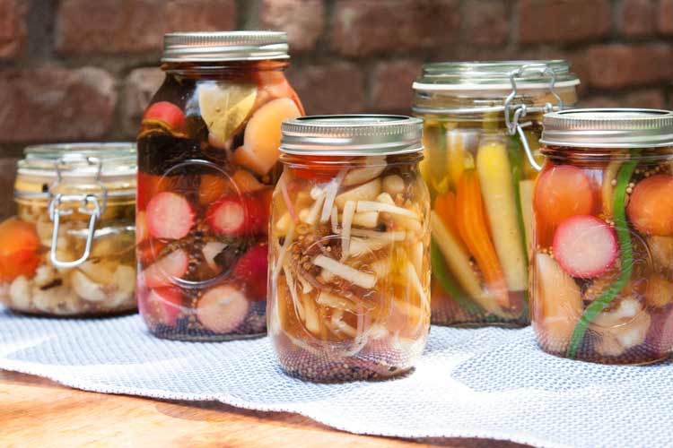 Union Market Recipe: Pickled Spring Vegetables