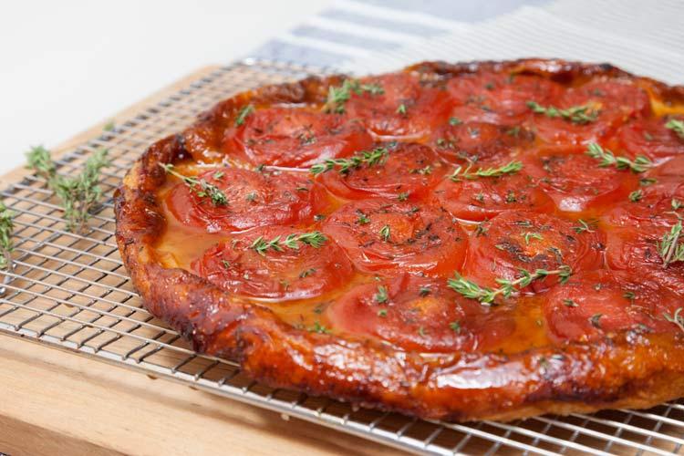 Union Market Recipe - Tomato Tarte Tatin