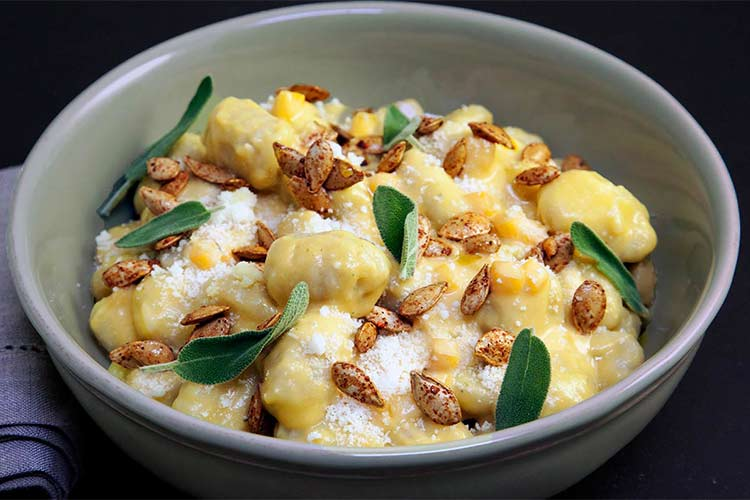 Union Market Recipe - Gnocchi with Butternut Squash and Sage