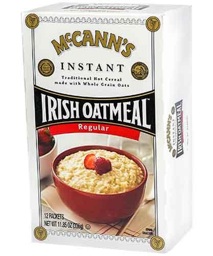 McCann's Instant Irish Oatmeal