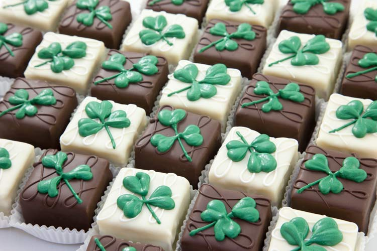 Union Market - Saint Patrick's Day Petits Fours