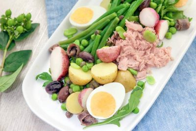 Union Market - Spring Nicoise Salad with New Potatoes recipe