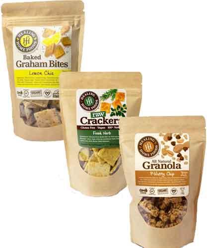 Healing Home Foods Snacks & Granola