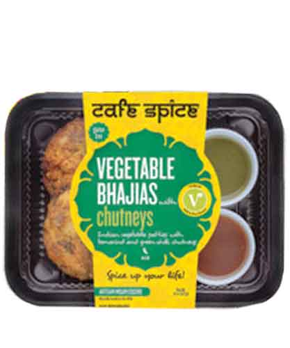 Café Spice Vegetable Bhajias