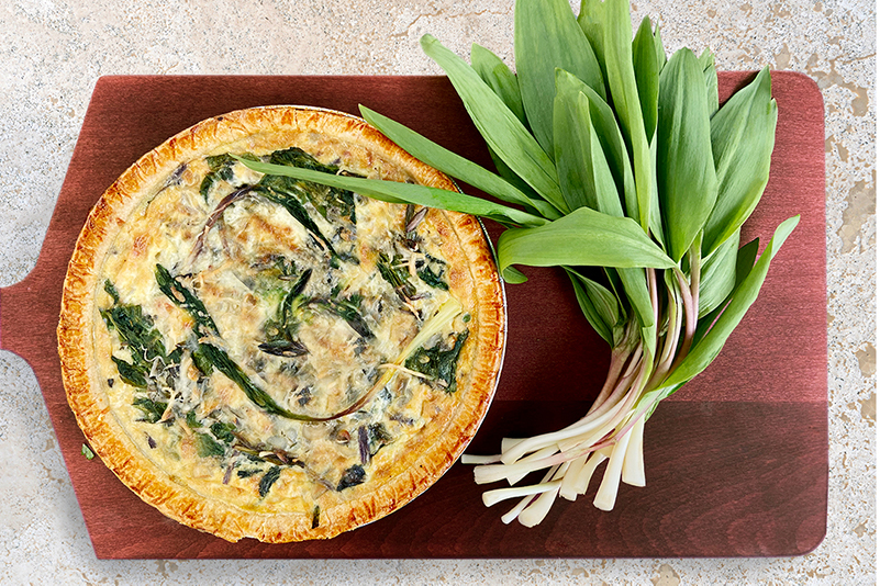 Union Market - Ramps Quiche from Prepared Food Department