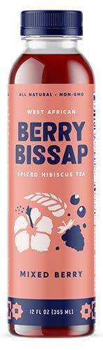 Berry Bissap Spiced Hibiscus Tea