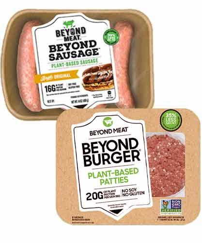 Beyond Meat Burgers & Sausages