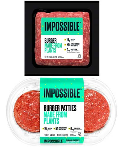 Impossible Ground Burger & Patties